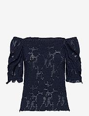 Lollys Laundry - Honey Top - blouses à manches courtes - 23 dark blue - 2