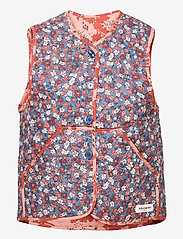 Lollys Laundry - Santiago Vest - knitted vests - 30 red - 0