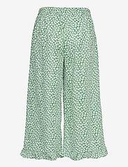 Lollys Laundry - Estrid Pants - bukser med brede ben - green - 1