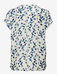 Lollys Laundry - Heather Top - kortærmede bluser - creme - 1