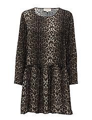 Gili Dress - LEOPARD