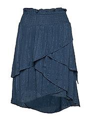 Ruth Skirt - DUSTY BLUE