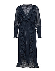 Adriana Dress - WASHED BLACK