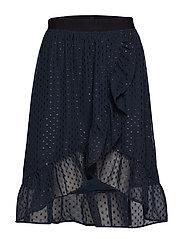 Bertha Skirt - WASHED BLACK