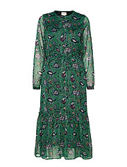 Anastacia Dress - GREEN