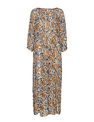 Gudrun Dress - FLOWER PRINT