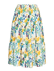 Morning Skirt - FLOWER PRINT
