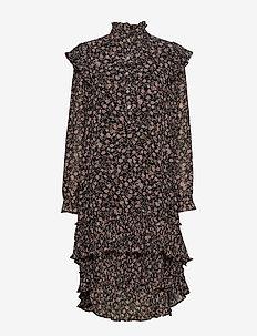 Frille Dress - FLOWER PRINT