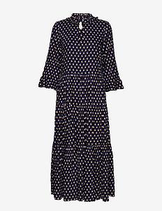 Liliya Dress - BLUE