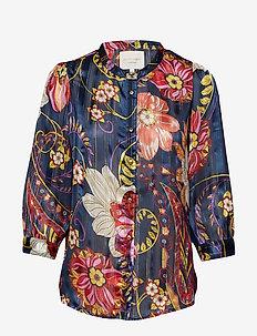 Amalie shirt - DARK BLUE