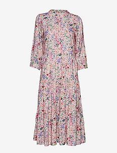 Olivia Dress - FLOWER PRINT