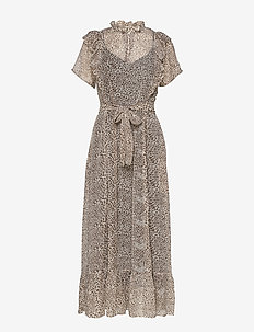 Ricca Dress - LEOPARD PRINT