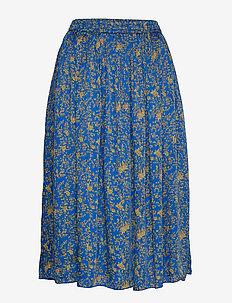 Pauline Skirt - midi skirts - neon blue