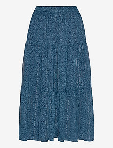 Morning Skirt - midi - petrol