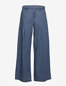 Hay Pants - hosen mit weitem bein - blue