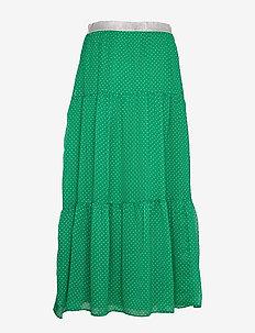 Bonny Skirt - do kolan & midi - green