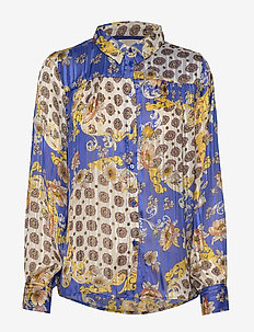 Molly Shirt - dugim rękawem - blue