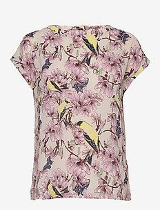 Krystal Top - t-shirts - flower print