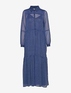 Penny Dress - skjortekjoler - blue