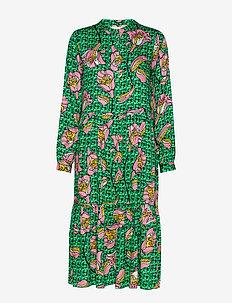 Kaia Dress - DARK GREEN