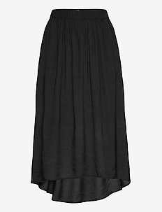 Roar Skirt - midi - washed black