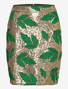 Aqua Skirt - ołówkowe spódnice - green