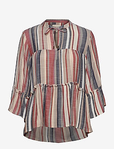 Toga Blouse - bluzki z długimi rękawami - stripe