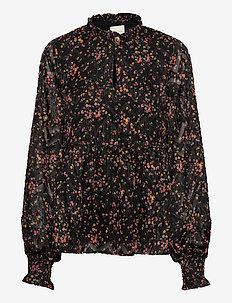 Maya Blouse - bluzki z długimi rękawami - flower print
