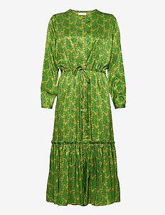 Anastacia Dress - hverdagskjoler - green