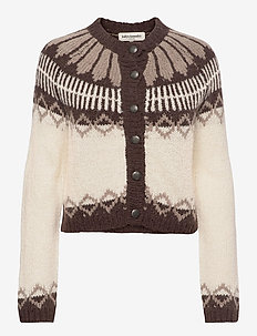 Lilja Cardigan - swetry rozpinane - 02 creme