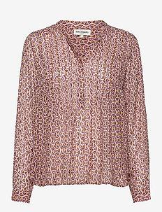 Helena Shirt - blouses med lange mouwen - 84 light pink