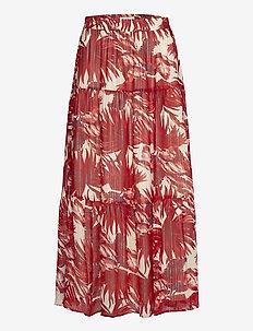 Bonny Skirt - midinederdele - 74 flower print