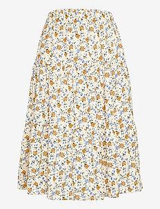 Morning Skirt - midinederdele - 02 creme