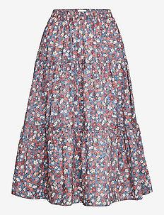 Morning Skirt - midinederdele - 20 blue