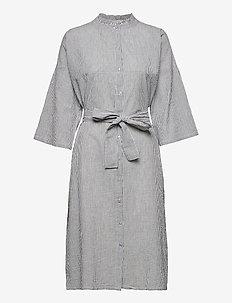 Tumi Dress - skjortklänningar - 80 stripe