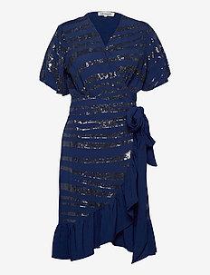 Ankara Dress - cocktail-kjoler - 29 dusty blue