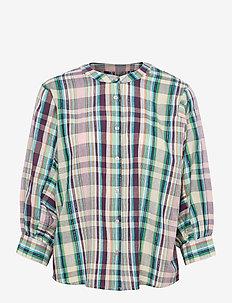 Ralph Shirt - långärmade skjortor - check print