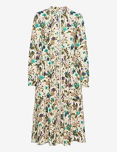 Kaia Dress - sommerkjoler - flower print
