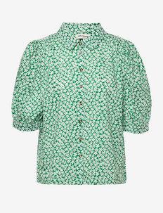 Zoe Shirt - kortærmede bluser - green