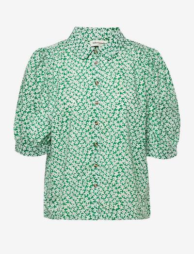 Zoe Shirt - short-sleeved shirts - green