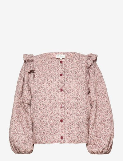Lilly Jacket - long sleeved blouses - 36 dusty rose
