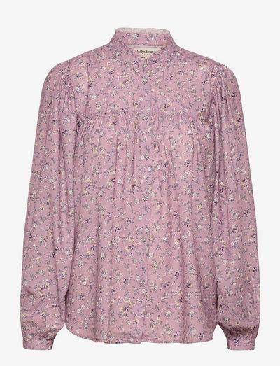 Cara Shirt - langærmede skjorter - 74 flower print
