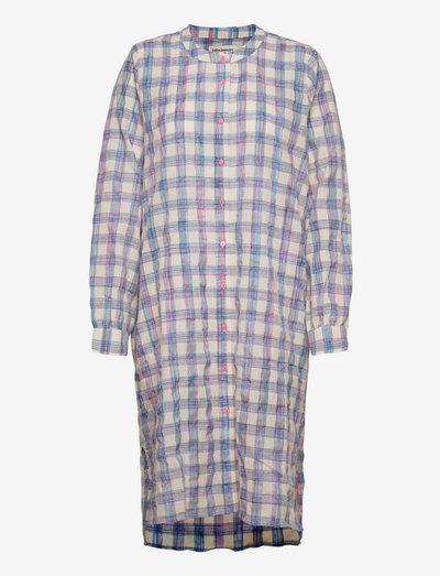Vega Shirt - shirt dresses - 79 check print