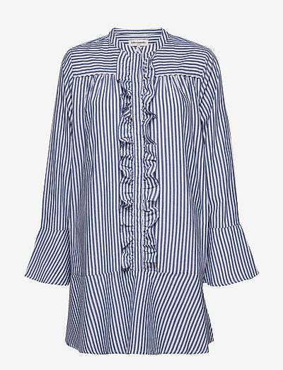 Haddy Dress - skjortekjoler - 80 stripe
