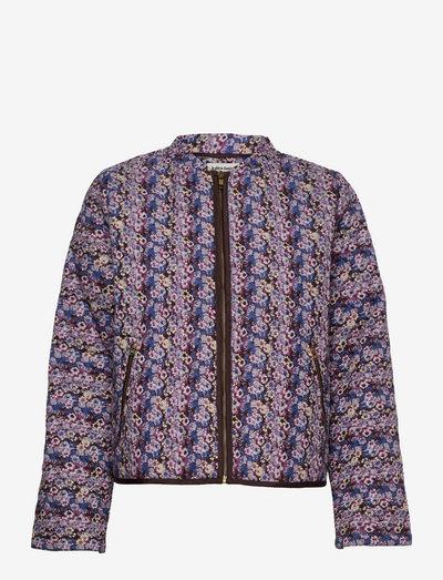 Emilia Jacket - quiltede jakker - 74 flower print
