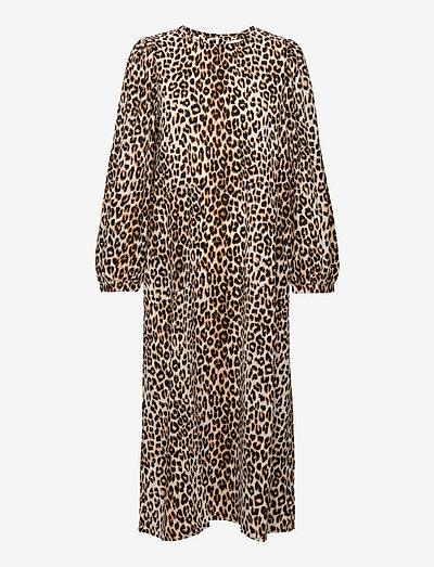 Lucas Dress - sommerkjoler - 72 leopard print