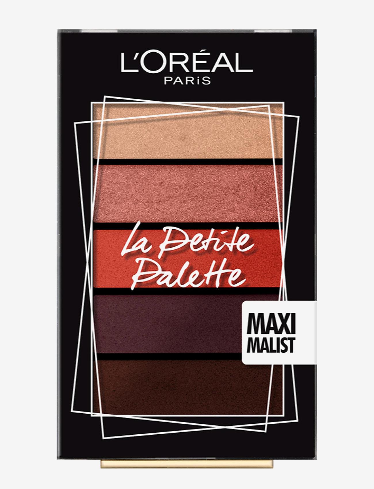 L'Oréal Paris - La Petite Palette Eyeshadow - Øjenskyggepalet - 01 le marais - 0
