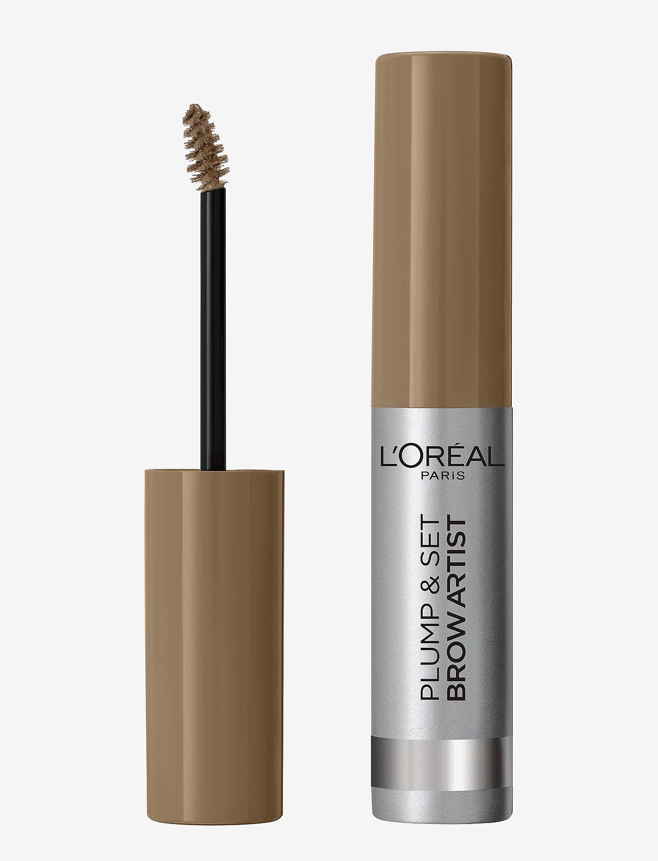 L'Oréal Paris - Brow Artist Plump & Set - Øjenbrynsgel - blonde 101 - 0