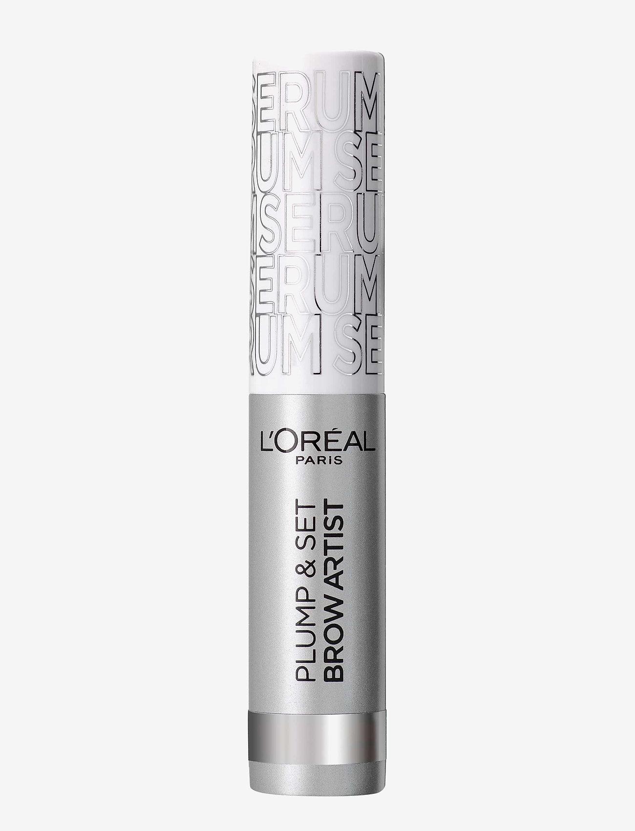 L'Oréal Paris - Brow Artist Plump & Set - Øjenbrynsgel - transparent 0 - 0