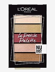 L'Oréal Paris - La Petite Palette Eyeshadow - Øjenskyggepalet - 02 belleville - 0